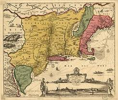 colonial america map colonization of the americas