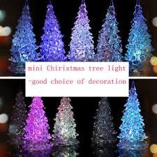 light up acrylic tree ornaments twinkling led