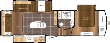 Fifth Wheel Rv Floor Plans by Fifth Wheel Floor Plans Front Living Room Best 25 Round House