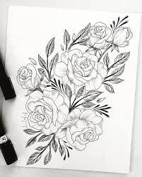 best 25 flower drawings ideas on pinterest draw flowers flower