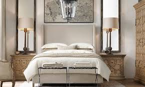 restoration hardware bedding for a comfortable bedroom dtmba