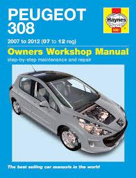 peugeot diesel cars peugeot 308 petrol u0026 diesel 07 12 haynes repair manual