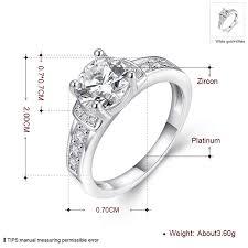 love rings design images Eternity love women 39 s pretty 18k white gold plated jpg