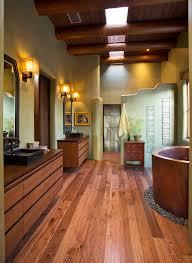 Southwestern Sconces Japanese Shower Bathroom Southwestern With River Rocks Modern Wall
