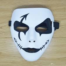 Cool Mask 20 Styles Halloween Masquerade White Devil Party Mask Evil Death