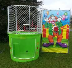 dunking booth rentals dunk tank 500 gallon blaster bouncer pittsburgh inc
