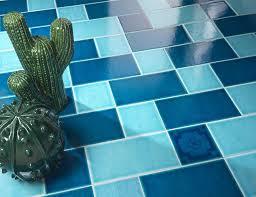 indoor tile bathroom floor wall azzurro mare cerasarda