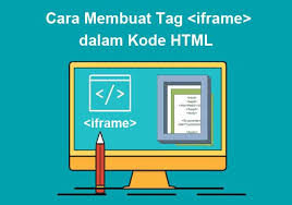 membuat teks berjalan menggunakan html cara membuat tag iframe dalam kode html