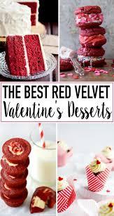 romantic red velvet valentine u0027s day desserts designer trapped