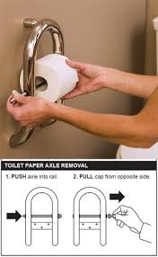 How To Install Bathtub Grab Bars Dual Purpose Grab Bars For Your Bathroom Invisia Collection