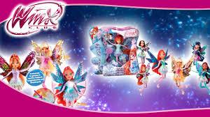 dolls winx club tynix fairy tynix light promo