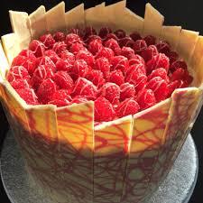 white chocolate cake recipe shard raspberry topped chocolate cake with white chocolate shard