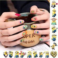 despicable me minion nail art applique water slide decals