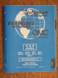 outboard parts manual evinrude johnson year 1998 catalog 5hp 6hp