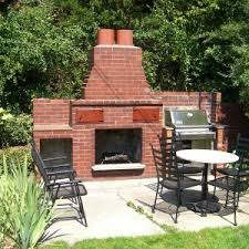 Fake Outdoor Fireplace - home decor masonry fireplace design with outdoor fireplace designs