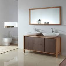 42 Inch Double Vanity Bathroom Bathroom Vanity And Mirror Set On Bathroom Within Ace 42