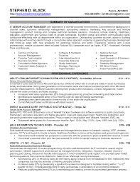 Sample Resume With Summary Of Qualifications Resume Executive Summary Examples