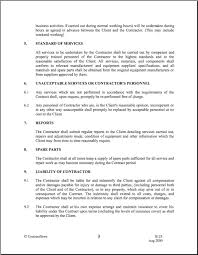 download maintenance service contract sample