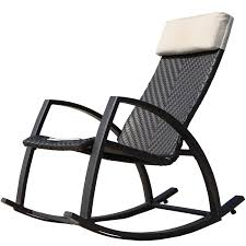 Wicker Rocking Chairs For Porch Grand Patio Weather Resistant Wicker Rocking Chair With Breathable