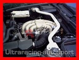bmw e34 525i engine bmw e34 5 series 525i only ultra racing front strut bar 2 points
