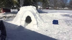 backyard igloo youtube