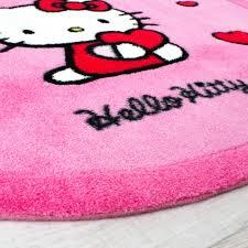 kinderzimmer teppich rund kinder teppiche hello und freunde teppich rund in pink