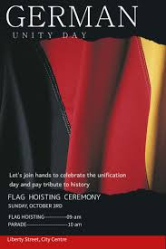 German Flag Meaning 8 Best German Day Of Unity Poster Templates Images On Pinterest