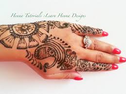 how to make henna designs step by step tutorial learn henna