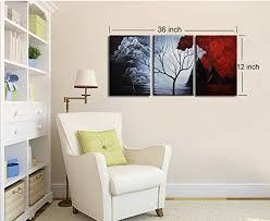 santin art the cloud tree modern abstract painting high q wall