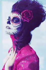 Dead Face Makeup Halloween 89 Best Day Of The Dead Makeup Images On Pinterest Costumes