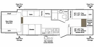 Outback Floor Plans 2008 Keystone Rv Outback Series M 26 Kbrs Specs And Standard