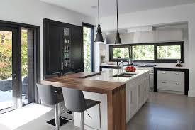 cuisine contemporaine enchanteur cuisine contemporaine bois et photos cuisine