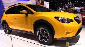 subaru xv exterior 2015 subaru xv crosstrek special edition exterior walkaround