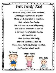 fact family song to the brady bunch song lol grade