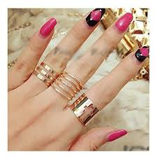 finger rings girls images Cinderella collection by shining diva stylish funky trendy set of jpg