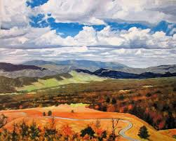 West Virginia landscapes images Art by keith johnson germany valley west virginia landscape painting jpg