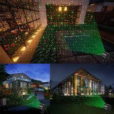 lawn star laser light christmas lights outdoor spotlight landscape