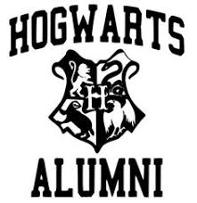 hogwarts alumni bumper sticker hogwarts crest by littlefallingstar deviantart on deviantart