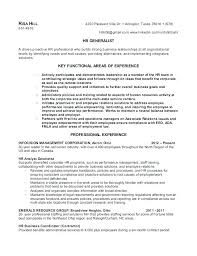 human resource resume resume human resource executive resume sle human resources