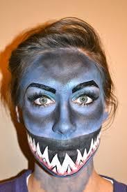 shark halloween costume best 10 shark makeup ideas on pinterest make up green shark