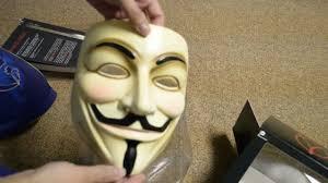 V For Vendetta Mask V For Vendetta Book And Mask Set Unboxing Youtube