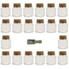 barattoli portaspezie viva per la casa 8 x barattoli portaspezie vetro trasparente