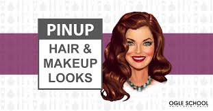 hair and makeup school get the pinup girl look