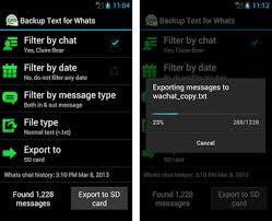 whats an apk backup text for whats apk version 1 8 4