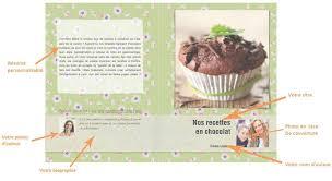 créer un livre de cuisine personnalisé cahier de recette créer propre livre de recettes inside créer