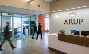 How To Build Reception Desk by Well Story Light At Arup International Well Building Institute