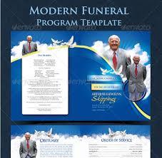 modern funeral programs modern funeral program startupstacks