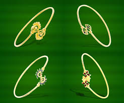 light weight gold jewellery collections bracelet designs