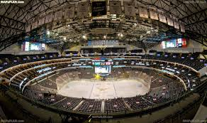 american airlines center dallas seat numbers detailed seating