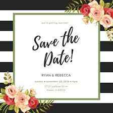Save The Date Make Your Own Save The Date Cards Canva